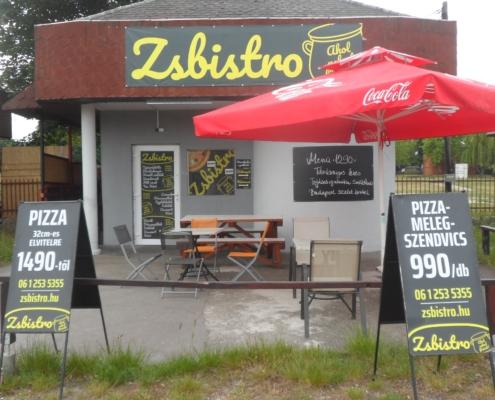 Zsbistro pizza és ételkiszállítás